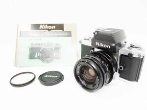 10 06-432848-21 [S]【A】 NIKON ニコン F2 カメラ 本体 PC-NIKKOR 35mm f2.8 フィルムカメラ 一眼レフ 名06