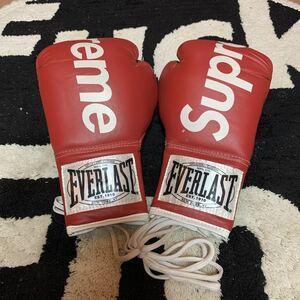 デッドストック supreme EVERLAST ボクシンググローブ エバーラスト BOXING