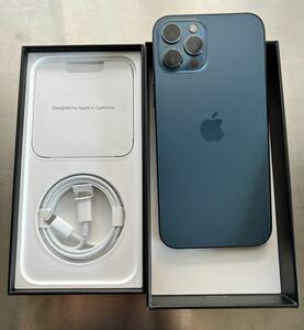 iphone12 pro max 512G パシフィックブルー