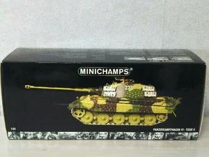 MINICHAMPS 1/35scale Panzerkampfwagen VI Tiger II Schwere Panzerabteilung 501 Ardennenoffensive 1944