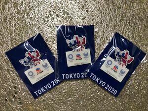 東京オリンピック ピンバッジ 3個