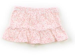 カーターズ Carter's スカート 70 女の子 白地・蛍光オレンジ小花 子供服 ベビー服 キッズ(799812)