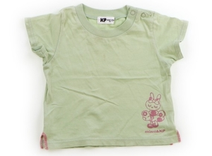 ニットプランナー(KP) Knit Planner(KP) Tシャツ・カットソー 80 女の子 黄緑 子供服 ベビー服 キッズ(801538)