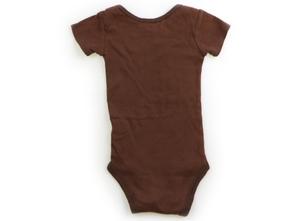 カーターズ Carter's ロンパース 60 男の子 ブラウン・青 子供服 ベビー服 キッズ(807727)