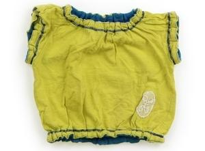 ズッパディズッカ Zuppa di Zucca Tシャツ・カットソー 80 女の子 黄緑系黄色 子供服 ベビー服 キッズ(808540)