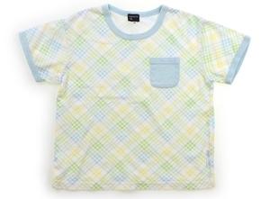 組曲 Kumikyoku Tシャツ・カットソー 110 女の子 水色、黄緑、黄 子供服 ベビー服 キッズ(812833)