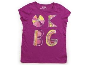 オシュコシュ OSHKOSH Tシャツ・カットソー 150 女の子 紫・シルバー・オレンジピンク黄色 子供服 ベビー服 キッズ(811403)