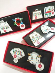 コカ・コーラ コークオン 東京2020 オリンピック 競技 ピンズ セット 非売品 限定 野球 体操 空手 ホッケー