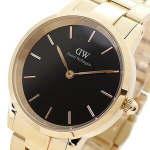 【新品 本物】ダニエルウェリントン DANIEL WELLINGTON 腕時計 メンズ レディース DW00100210 Iconic Link 36mm クォーツ