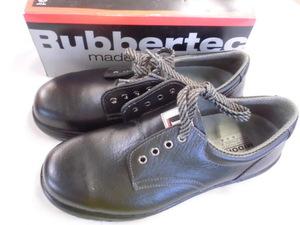 未使用 ミドリ安全 安全靴 ラバーテック 26cm EEE ブラック ラバー2層底 k08