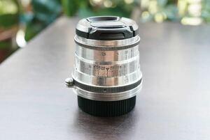 極美品 最初期型 分解清掃済 Industar-26m 52mm f2.8 M39 L39 ライカLマウント オールドレンズ 単焦点 検索) α7 II Ⅲ 送料無料 8