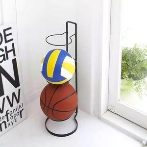 新品 スポーツ バスケットボール ラック 子供 省スペース ボール収納スタンド 飾り k00416 キッズ サッカーZK24