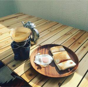 折りたたみ コーヒードリッパー 木製ケース コーヒーフィルター3点セット