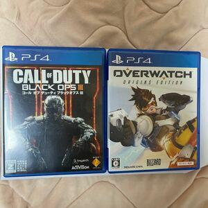 PS4 BO3 Overwatch