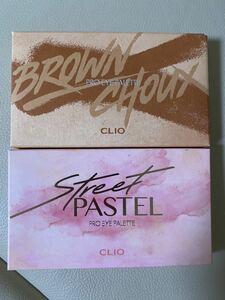 CLIO クリオ プロアイシャドウ パレット ブラウンシュー ストリートパステル