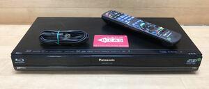 良品☆ 動作確認済み☆ パナソニック Panasonic DIGA HDD/BDレコーダー DMR-BWT1100 2番組同時録画 3D対応機 リモコン b-CASカード 付き A5