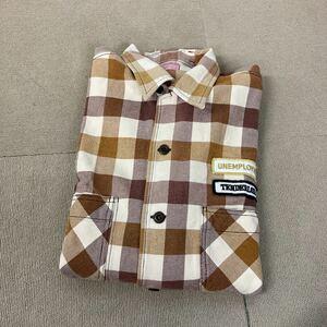 TENDERLOIN テンダーロイン■バッファローチェック■ネルシャツ■サイズ L■チェック 長袖シャツ■現状品