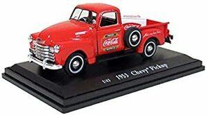 Coca-Cola(コカ・コーラ) ダイキャストミニカー 1953 Chevy Pickup with metal cooler