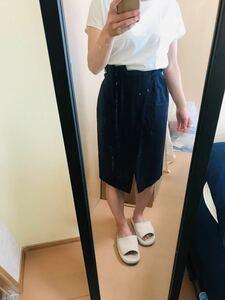 タイトスカート ロペピクニック スカート ロングスカート