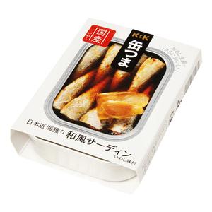 おつまみ 缶つま 日本近海獲り 和風サーディン:105g (317815) 6個☆ 新品 家飲み おかず ギフト プレゼント 人気 即決 安い