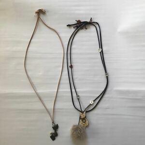 ハンドメイド ネックレス 2個セット