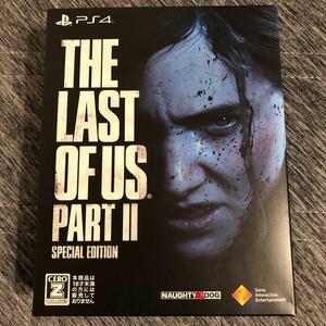 ☆美品☆ The Last of Us Part II [スペシャルエディション] 【PS4】PS4ソフト