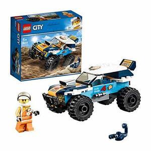 レゴ(LEGO) シティ 砂漠のラリーカー 60218 ブロック おもちゃ 男の子 車
