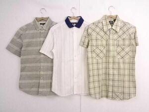 中古 ジースターロゥ ユナイテッドアローズ 半袖シャツ シャツ 夏物 3点セット M メンズ