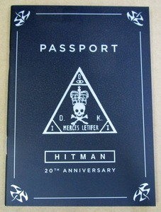 ヒットマン3 早期購入特典 20th ANNIVERSARY PASSPORT のみ PS5 PS4 HITMAN3
