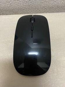 ワイヤレスマウス ブラック USBレシーバー