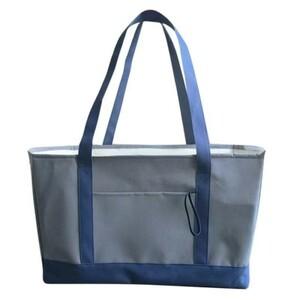 新品 エコバッグ 保温保冷バッグ お弁当箱 買い物バッグ 巾着レジ袋 ショッピングバッグ コンパクトコンビニ袋 レジかごバッグ 紺