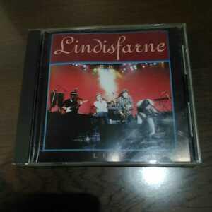 【送料無料 中古CD レア盤】LINDISFARNE LIVE / オフィシャル盤 / Nottingham 1990 / リンディスファーン
