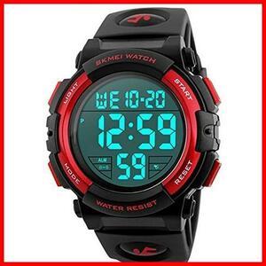 2G 新品 新品Timever(タイムエバー)デジタル腕時計 スポーツウォッチ watch 防水腕時計 在庫限り 在庫限り アラーム メンズ led 1T