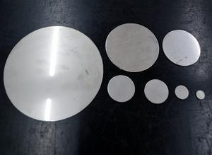 ステンレス(SUS304) 2B材 円板 平丸板 打抜き品 小口販売S10 S11