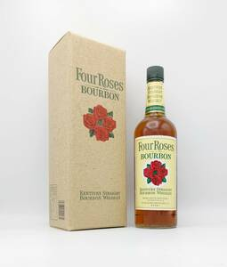 【全国送料無料】Four Roses KENTUCKY STRAIGHT BOURBON WHISKEY 43度 750ml