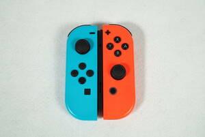 Nintendo Switch 本体 用 コントローラー ジョイコン / 任天堂 スイッチ JOY-CON 《動作確認済・清掃済》J26