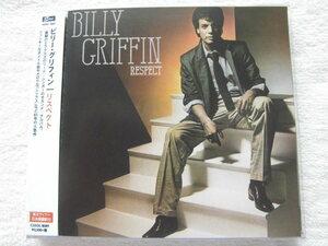 新品未開封 国内盤帯付 リマスター / Billy Griffin / Respect +4 (ボーナストラック) メロウでアーバンはタイトル曲他、モダンソウル 名盤