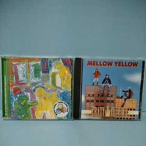 〈CD2枚〉MELLOW YELLOW・CRAZY CLIMBER FRCD-110/MELLOW YELLOW・FunkyFreakyFresh FRCD-127 メローイエロー Kohei Japan