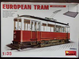 ★1円スタート★MiniArt ミニアート 1/35 EUROPEAN TRAIN ヨーロッパ 路面電車