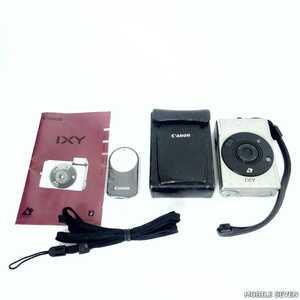 【動作未確認】Canon キャノン IXY イクシィ デジタルカメラ USED /2109C
