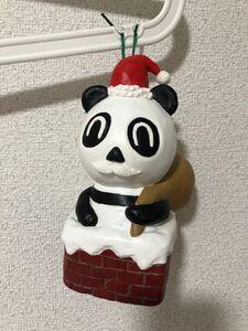 オリジナル 手作り クリスマスツリー飾り パンダサンタ ハンドメイド