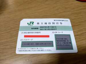 JR東日本 株主優待券 割引券 株主優待割引券 4割引