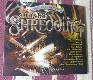 This Is Shredding volume1 / SHRAPNEL RECORD 限定盤、輸入盤廃盤【中古/送料込】