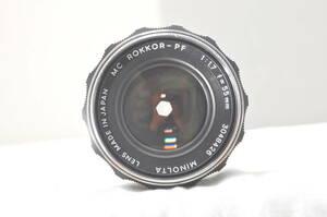 ★極上★MINOLTA MC ROKKOR-PF 55mm F1.7#5398