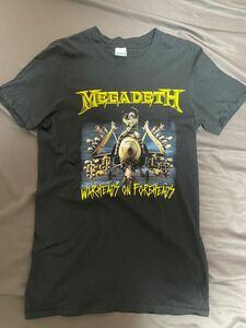 Megadeth Sサイズ Tシャツ バンドTシャツ
