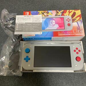 使用感なし美品 Nintendo Switch LITE ポケモン AC未使用おまけ付き