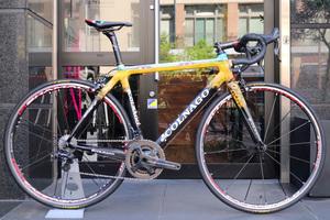 コルナゴ COLNAGO CX-1 ひまわり 2010 500Sサイズ カンパニョーロ スーパーレコード11s カーボン ロードバイク 【限定アートデコール】