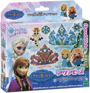 アクアビーズ アナと雪の女王ティアラセット キャラクターセット AQ-213 epoqe ディズニー ビーズ おもちゃ 水 手芸 エポック社
