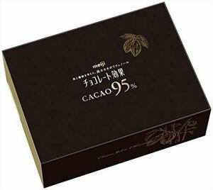 新品明治 チョコレート効果カカオ95%大容量ボックス 800g27T8