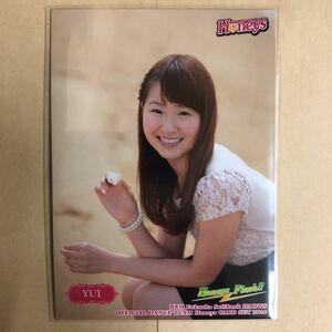 YUI 2014 BBM 福岡ソフトバンク ホークス チア Honeys H26 プロ野球 カード トレカ チアリーダー チアガール